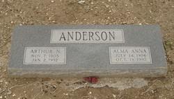 Alma Anna Anderson
