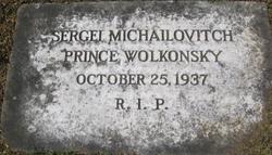 Sergei Michailovitch Wolkonsky