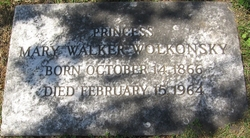 Mary Walker <i>Fearn</i> Wolkonsky