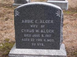Abbie E Alger