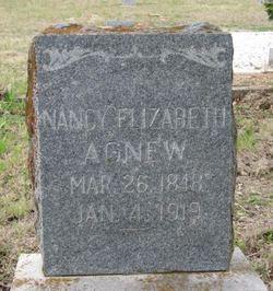 Nancy Elizabeth <i>Lane</i> Agnew
