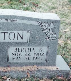 Bertha K. <i>Foltz</i> Button