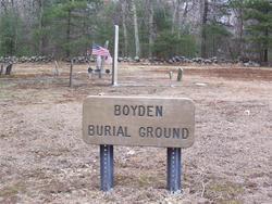 Boyden Burial Ground