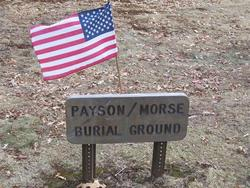 Payson-Morse Burial Ground