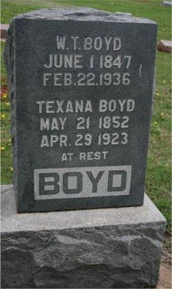 William T Boyd