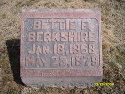 Bettie F Berkshire