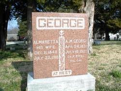 Almaretta (Rettie) Viola <i>Coons</i> George