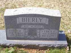 Etta Lee <i>Cutshall</i> Bierly
