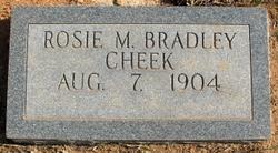 Rose May Rosie <i>Bradley</i> Cheek