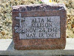 Alta M Allison