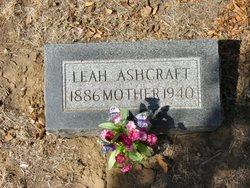 Leah <i>Ashcraft</i> Ashcraft