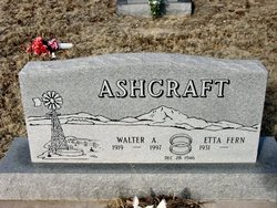 Walter Albert Ashcraft
