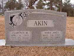Marie <i>Ames</i> Akin