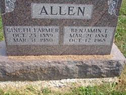 Benjamin Thomas Big Ben Allen