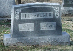 Emma F <i>Moser</i> Hilgardner