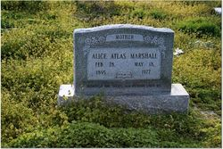 Alice <i>Atlas</i> Marshall