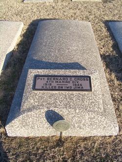 Pvt Bernard C. Cross