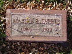 Maxine B. <i>West</i> Everts
