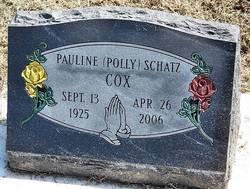 Pauline Polly <i>Schatz</i> Cox