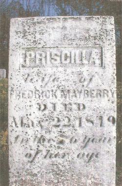 Priscilla T <i>Yokum</i> Mayberry