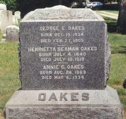 Henrietta <i>Seaman</i> Oakes