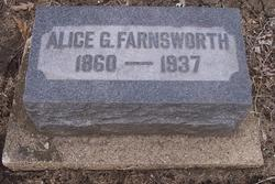 Alice G Farnsworth