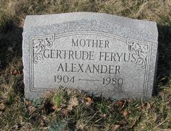 Gertrude <i>Feryus</i> Alexander