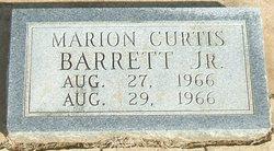 Marion Curtis Barrett, Jr