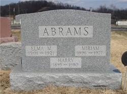 Elma <i>Mackall</i> Abrams