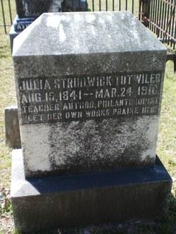 Julia Strudwick Tutwiler