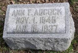 Ann Franklin <i>Vier</i> Adcock