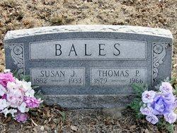 Susan Jane <i>Mapes</i> Bales