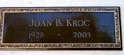Joan Beverly <i>Mansfield</i> Kroc