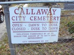 Callaway Cemetery