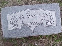 Anna May Lang