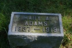 Mary A. <i>Libby</i> Adams