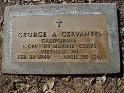 LCpl George Andrew Cervantes