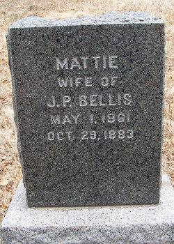 Mattie <i>Gordon</i> Bellis