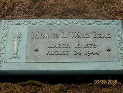 Minnie L. <i>Ward</i> Read