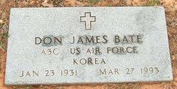Donald James Bate