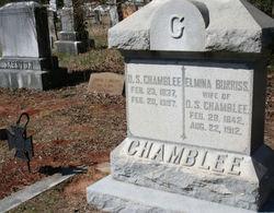 Elmina Burriss <i>Burriss</i> Chamblee