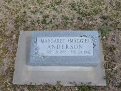 Margaret Maggie Anderson