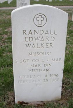 Sgt Randall Edward Walker