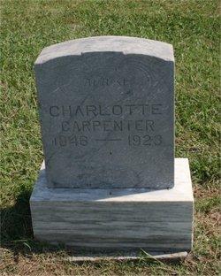Lottie Charlotte <i>Ackley</i> Carpenter