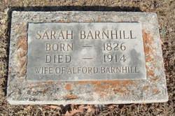 Sarah Ann <i>Fletcher</i> Barnhill