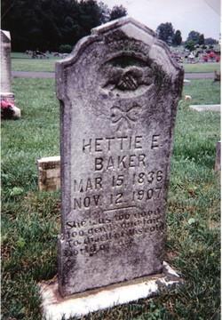 Hettie E. <i>Chesnut</i> Baker