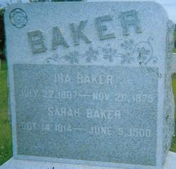 Sarah D. <i>Crook</i> Baker