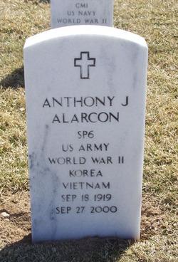 Anthony J Alarcon