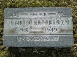 June Delores <i>Greening</i> Kesterson