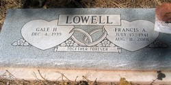 Francis A Lowell